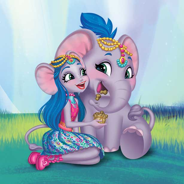 Ekaterina Elephant and Antic character image
