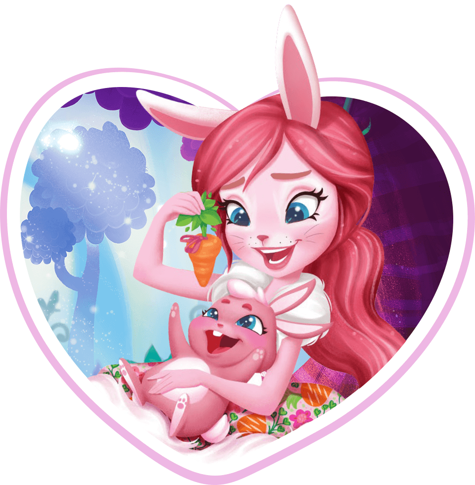 Bree Bunny™ & Twist™ character image