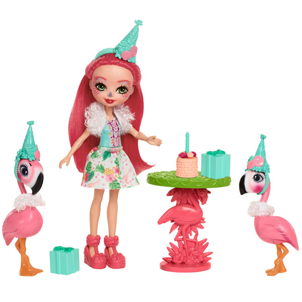 Enchantimals™ Fiesta de Flamingos Muñecas product image