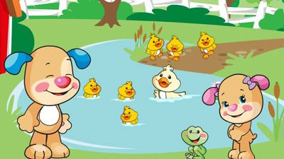 Laugh and Learn Cartoons for Babies Lets Go to the Farm Video Image