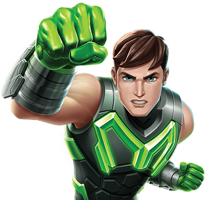 Max Steel Character Image