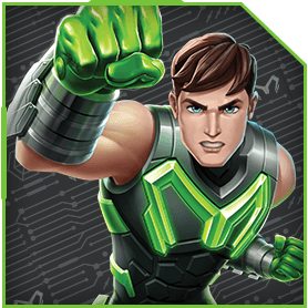 Max Steel Character Image-characterimage
