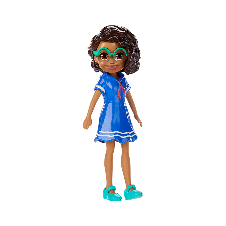Polly Pocket™ Doll With Trendy Outfit Product Image