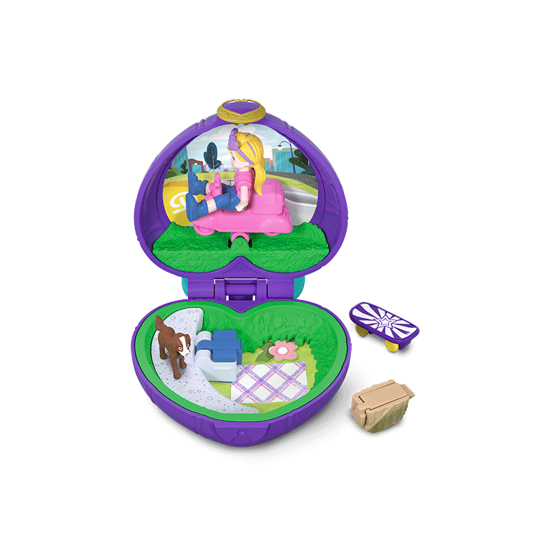 Polly Pocket Tiny Pocket Places Picnic Compact Product Image