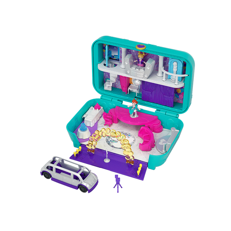 Polly Pocket™ Hidden Places Themed Worlds with Accessories Product Image