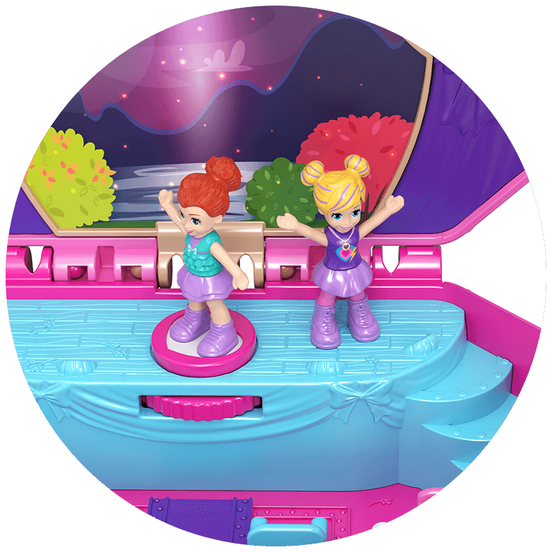 Pocket World Tiny Twirlin' Music Box Product Image