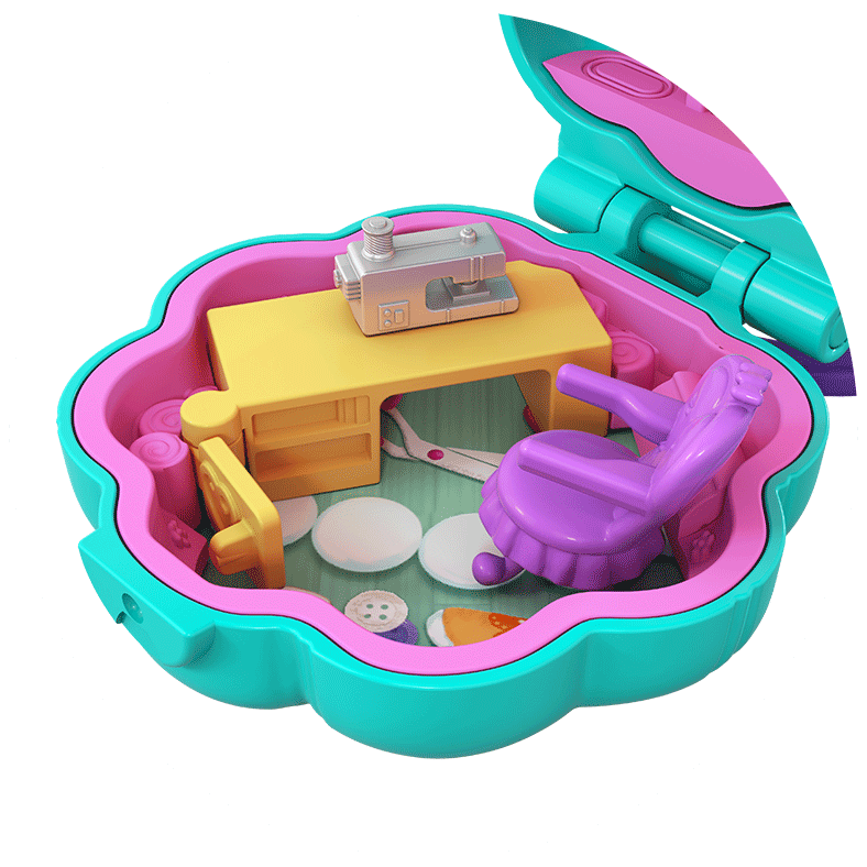 Polly Pocket Tiny Pocket Places Studio Compact Product Image