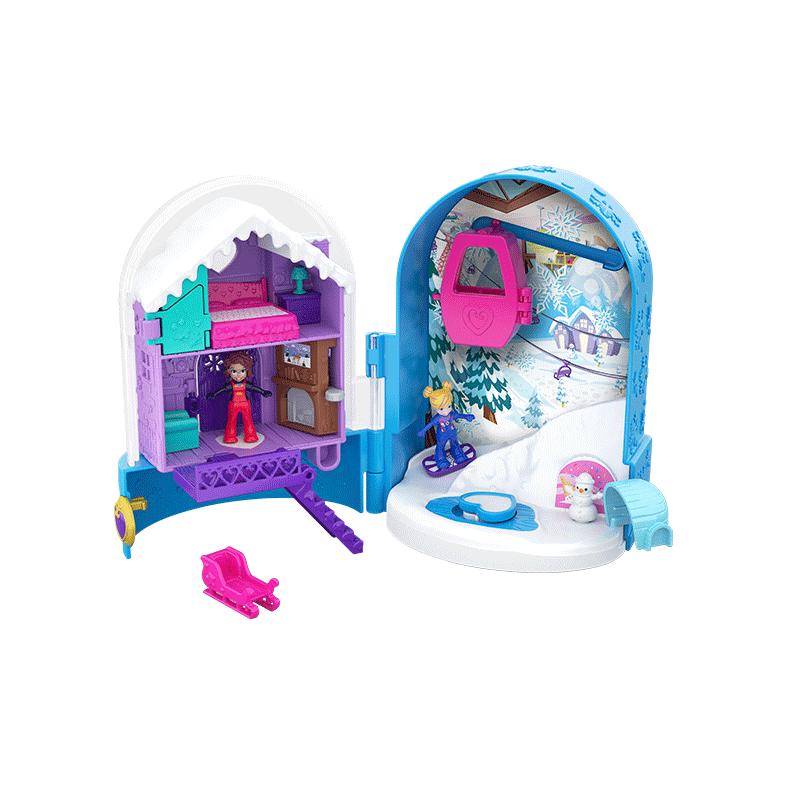 Polly Pocket Pocket World Snow Secret Compact Product Image