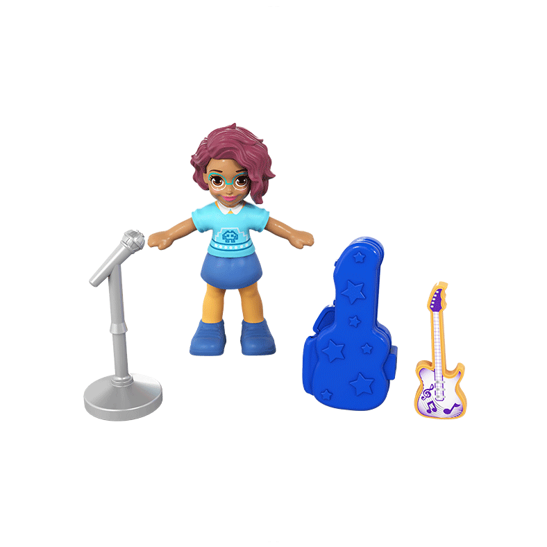 Polly Pocket Tiny Pocket Places Concert Compact Product Image