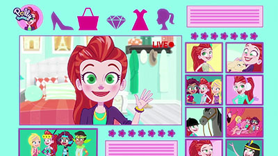 Polly Pocket'in en İyi̇ Arkadaşiyla Taniş: Lila! Video Image