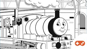 Sodor Paint Shop - Percy-characterimage