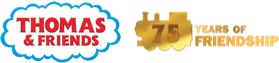 Thomas & Friends 75 logo